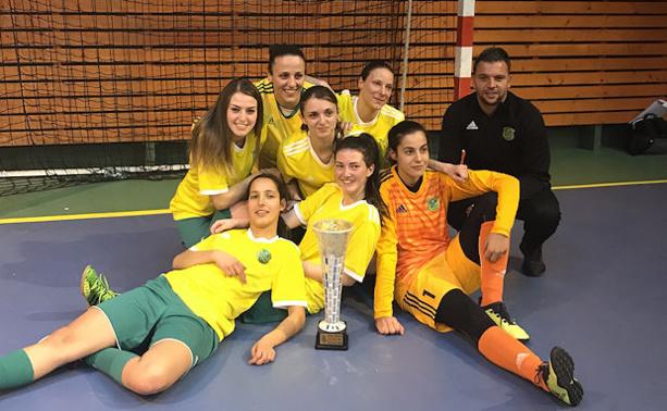 Futsal Féminin - La Coupe du Rhône pour le FC BORDS de SAÔNE