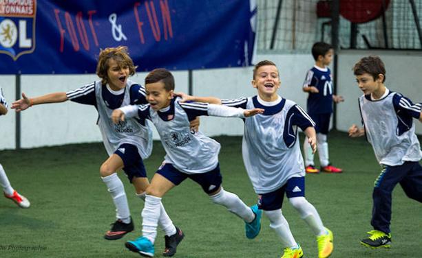 Stages OL foot&Fun - Et si vous inscriviez votre enfant pour les VACANCES de FÉVRIER