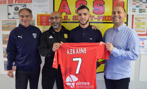 Formation - Un U17 de l'AS SAINT-PRIEST signe dans un club pro