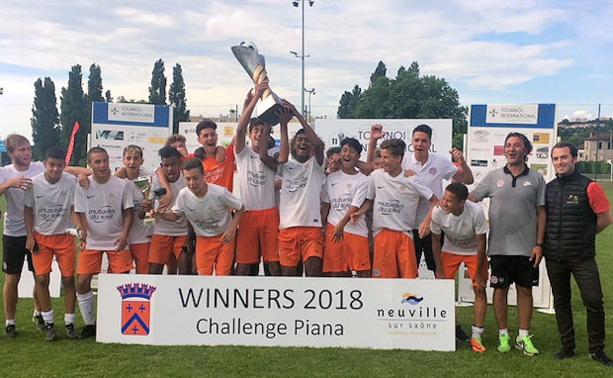 Qui succédera au Montpellier HSC, vainqueur 2018 du tournoi international U15 du CS Neuville ?