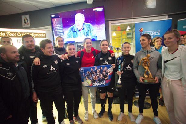Le Chassieu-Décines FC, vainqueur 2019 de la soirée des Ladies du Foot Crédit Agriciole