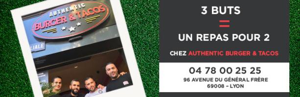 Challenge Authentic Burger&Tacos (Buteurs R3) - MANGA en profite !