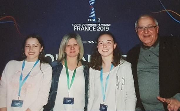 Trois représentants du District e Lyon et du Rhône étaient présents avec Martine Granottier, Mélanie Verguet et Serge Gourdain.