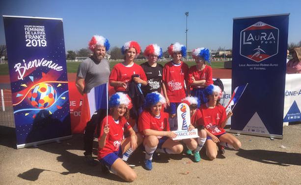 LAURA Foot d'ELLE - 400 filles au stade TISSERAND de Chassieu