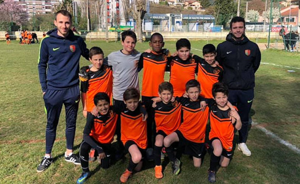 U11 - L'AS ECULLY tient la route
