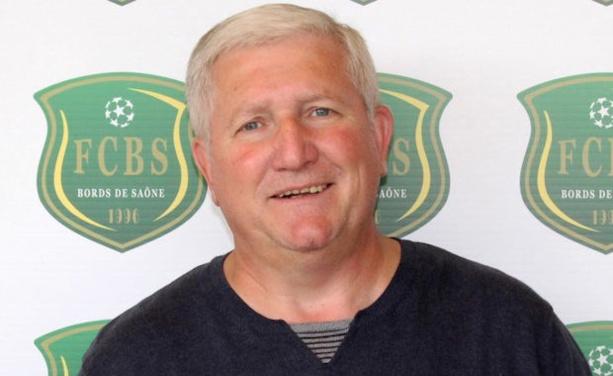 Guy Rasper (prédident FC Bords de Saône)