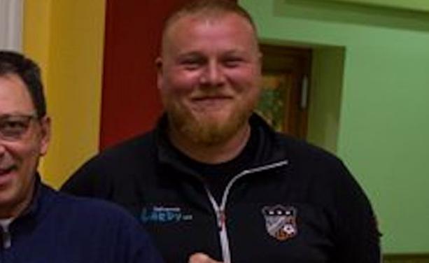 Thomas Fugl, l'entraîneur du FC Rontalon