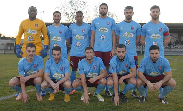 FC BOURGOIN - Le GROUPE pour la réception de MONTLUCON Foot