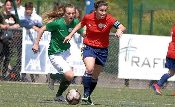 Coupe LAuRA Foot Féminine – La marche était trop haute pour le FC PONTCHARRA-SAINT-LOUP
