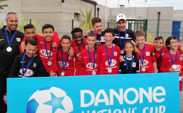 Danone Cup - Les U12 du FC LYON s'offrent une finale à CLAIREFONTAINE