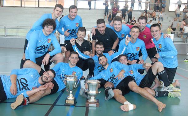 Coupe du Rhône Futsal – SUD AZERGUES FUTSAL fait un beau vainqueur, le Team BEL AIR un beau vaincu
