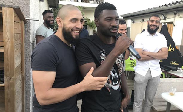 Achour Betahar et le jeune papa Nabi Touré