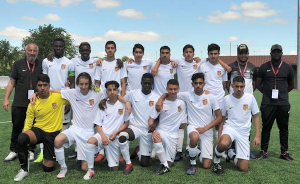 Le FC Vaulx B, vainqueur de la coupe du Rhône U17