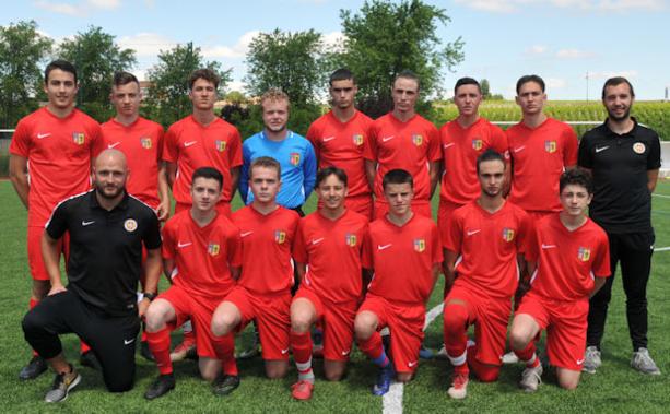 Le Sporting du Garon, finaliste de la Coupe du Rhône U17