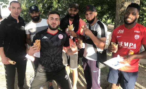 FC VENISSIEUX - La balance de Ben MOLINA et le BARBECUE avant les vacances