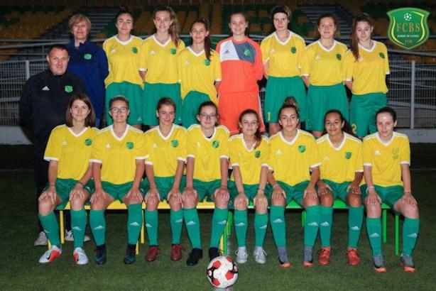 Les U18 féminines du FC Bords de Saône promues en Ligue