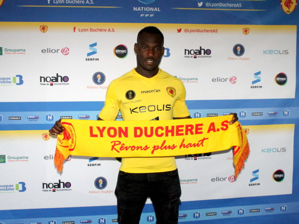 Lyon Duchère : un attaquant arrive du FC Lorient !