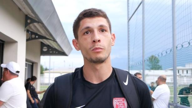 "Elian Tack (FC Bourgoin-Jallieu) : ""Favoris je ne sais pas, mais on est ambitieux"""