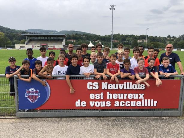 Les U15 d'Alban Compigne et Fabrice Peyraud-Magnin retrouvent le niveau D1, un an seulement après l'avoir quitté.