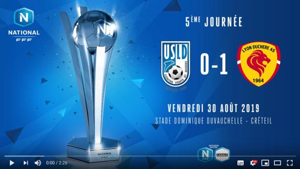 Le résumé vidéo de la victoire de Lyon Duchère à Créteil