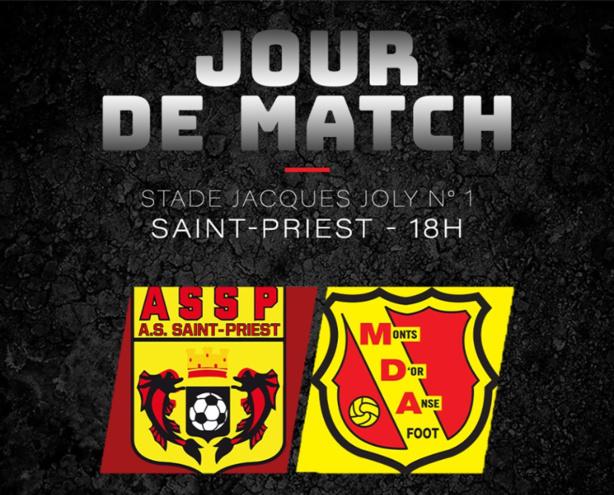 Suivez le derby Saint-Priest - MDA en direct commenté