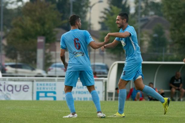 Kevin Ferrari: (FC Bourgoin-Jallieu): «Mes buts doivent énormément à Antony Sejallon»