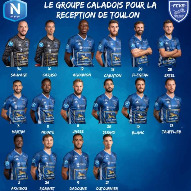 FC Villefranche Beaujolais : le groupe contre Toulon
