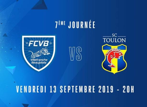 Suivez Villefranche - Toulon en direct vidéo