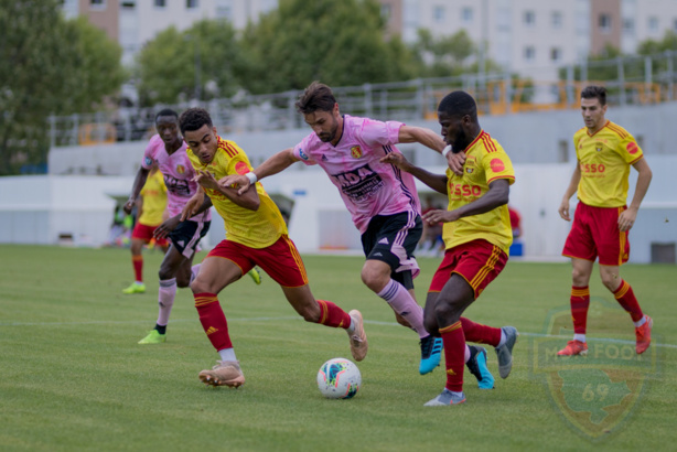 AS Saint-Priest : le groupe contre Martigues
