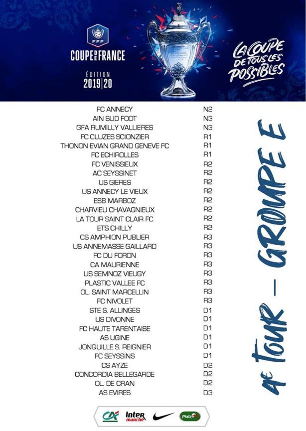 Coupe de France : la composition des groupes avant le tirage du 4e tour