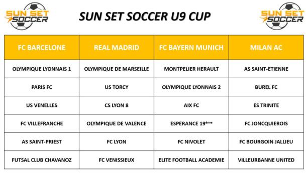 SUN SET SOCCER Cup U9 - On va se régaler à MIONS