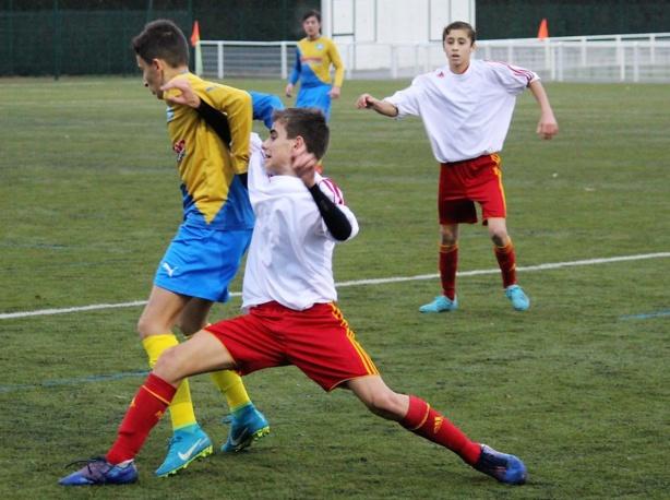 Coupe du Rhône U15 : AS Saint-Priest - Bron Grand Lyon les photos de Robert Ageron