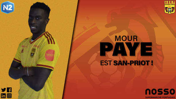 Mour Paye s'engage avec l'AS Saint-Priest