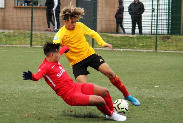 #U17Nat Valence - AS Saint-Priest (5-1) : les photos de Robert Ageron