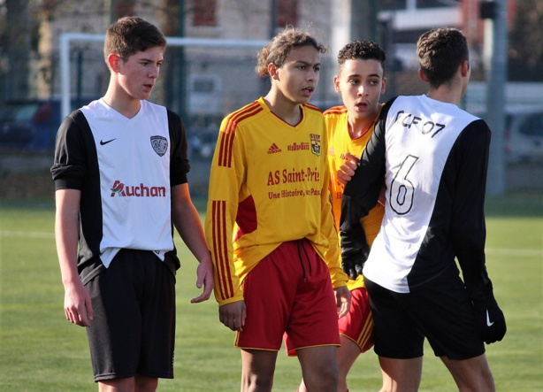 U16 R1 AS Saint-Priest B- Rhône Crussol 07 (5-2) : les photos de Robert Ageron