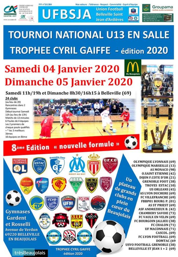 Philippe Graziani (UFBSJA) nous présente le Trophée Cyril Gaiffe