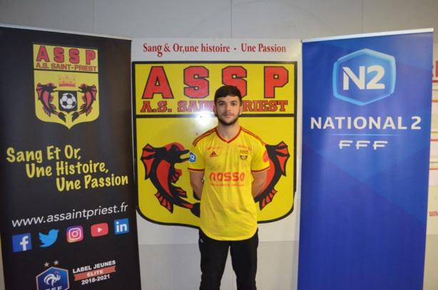 Gessym Monnier (latéral) s'engage à l'ASSP en provenance du Lyon Duchere AS