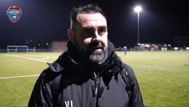 """Valentin Lori (Sud Lyonnais) : """"Des regrets sur ce 3e but qu'on n'a pas su mettre avant la mi-temps"""""""