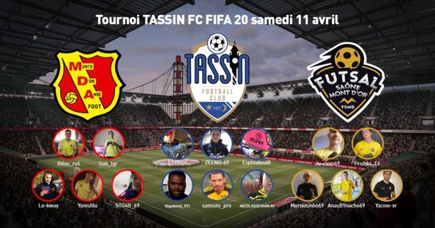 #Découverte - Le Tassin FC lance des tournois E-sport Fifa interclubs