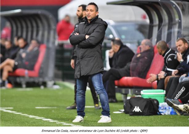 [Officiel] Emmanuel Da Costa nouvel entraineur de Lyon Duchère
