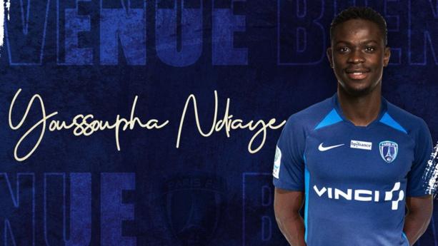 Youssoupha Ndiaye rejoint le Paris FC