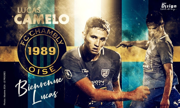 Lucas Camelo va découvrir la Ligue 2 !