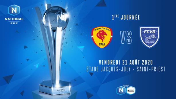 SC Lyon - FC Villefranche Beaujolais en direct vidéo