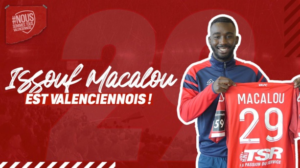 Direction la Ligue 2 pour Issouf Macalou