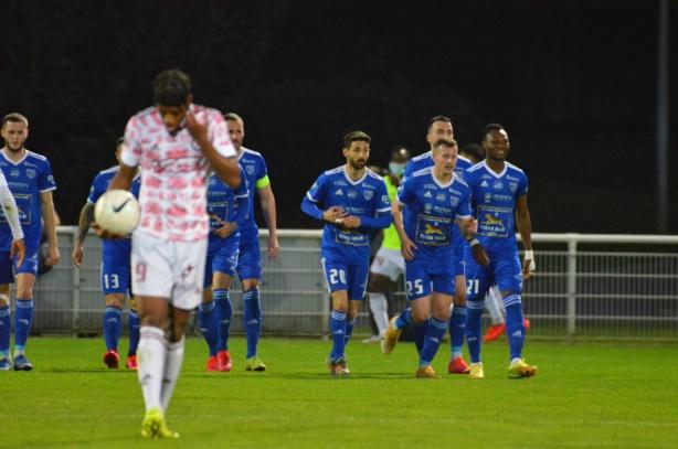 Le FC Villefranche Beaujolais s'est arraché. Crédit Sulivan Manfroi