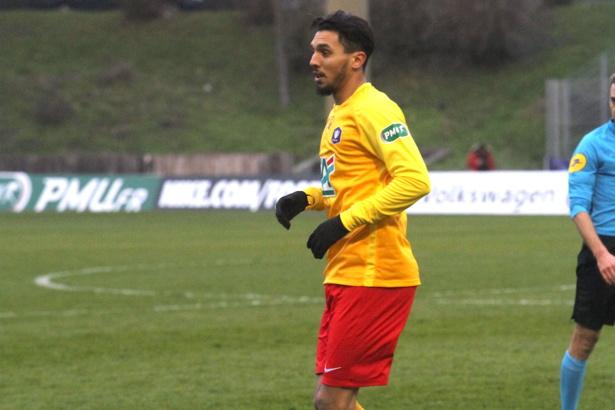 Hamadi Ayari sous le maillot duchérois / crédit photo Lyon La Duchère