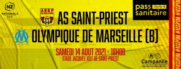 [National 2] Saint-Priest - Olympique de Marseille devrait bien avoir lieu