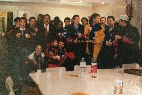 Quand la Seat-Ibiza rentrait dans le club house de la Duch'... tout le monde dansait !