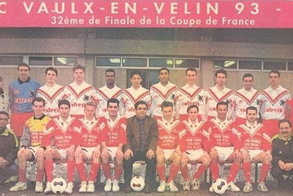 Le FC Vaulx 93, avant la rencontre face au FC Nantes