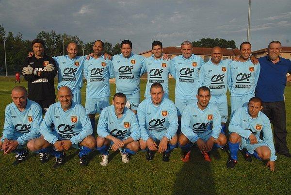 L'équipe victorieuse de la coupe du Rhône 2013